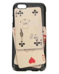 Paul Smith - Multicolor Card Print Iphone 6 Cover for Men - Lyst