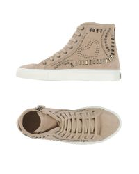 Twin Set - Natural High-tops & Trainers - Lyst
