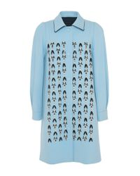 Mother Of Pearl | Baby Blue Kipling Coat | Lyst