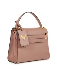 Valentino - Pink My Rockstud Single Handle Bag - Lyst