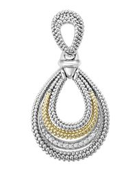 Lagos | Metallic Soiree Caviar™ & Diamond Pendant | Lyst