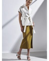 C/meo Collective - White All The Way Top - Lyst