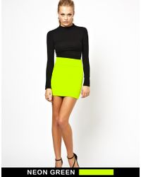 Boulee | Green Levi Bodyconscious Skirt | Lyst