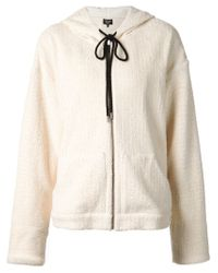 Creatures of the Wind - White 'jadis' Toweling Sweatshirt - Lyst