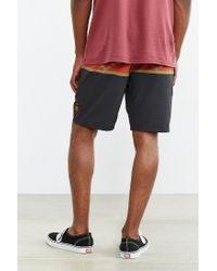 Vans - Black Nf Rising Swell Swim Short for Men - Lyst