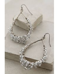 Anthropologie | White Glacon Earrings | Lyst