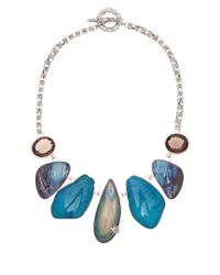 Stephen Dweck - Silver and Blue Rock Crystal Necklace - Lyst