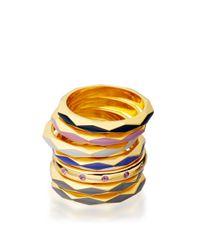 Astley Clarke | Metallic Thundercloud Faceted Prismic Ring | Lyst