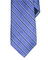 Lauren by Ralph Lauren | Purple Striped Silk-Cotton Tie for Men | Lyst