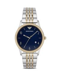 Emporio Armani | Blue 43mm for Men | Lyst