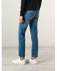 Giorgio Armani | Blue Regular Fit Jeans for Men | Lyst