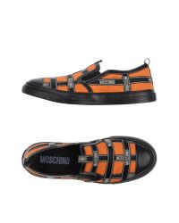 Moschino | Orange Low-tops & Trainers for Men | Lyst