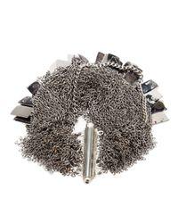 Jean-Francois Mimilla   Metallic Chain Link Bracelet   Lyst