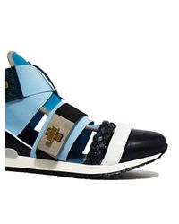Vionnet - Black Womens Vitello Sneaker - Lyst