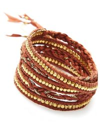 Nakamol - Multicolor Jhulier Wrap-gold - Lyst