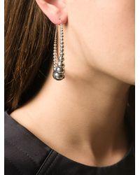 Gas Bijoux | Metallic 'Multiperla' Hoop Earrings | Lyst