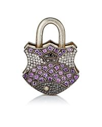 Sevan Biçakci | Multicolor Mixed-gemstone Fish Padlock | Lyst