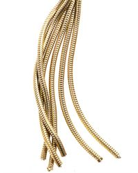 Isabel Marant - Metallic Times Square Rosequartz Earrings - Lyst