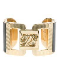 DSquared² - Gray Cuff Bracelet - Lyst