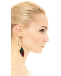 Gas Bijoux | Sioux Earrings - Purple Multi | Lyst