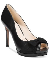 Nine West | Black Fealey Platform Dress Pumps | Lyst