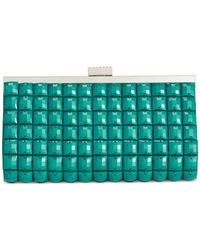 La Regale | Blue Tile Clutch | Lyst