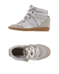 Isabel Marant - White High-tops  Trainers - Lyst