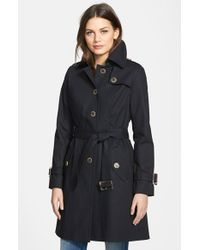 Pendleton | Black 'pacific Crest' Single Breasted Trench Coat | Lyst
