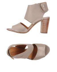 Lemarè - Gray Sandals - Lyst