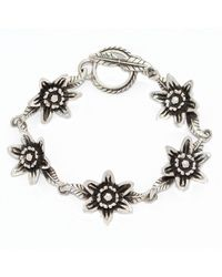 The Wildness Jewellery | Black Lotus Bracelet | Lyst
