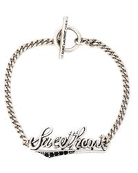 Saint Laurent | Metallic Sweetheart Bracelet | Lyst