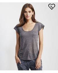 Live Love Dream | Gray Lld Slub Pocket Tee | Lyst