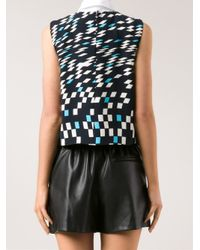 Opening Ceremony - Black Mirrorball Top - Lyst