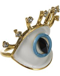Erickson Beamon - Blue Cheap And Cheerful Eye Ring - Lyst