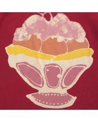 Stella McCartney - Red Lolly Ice Cream T-Shirt - Lyst
