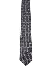 Lanvin - Metallic Contrast Jacquard Bar Tie for Men - Lyst