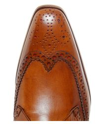 Jeffery West | Brown Capone Wing Tip Brogues for Men | Lyst