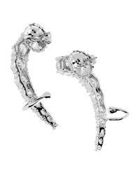 CZ by Kenneth Jay Lane - Metallic Earrings - Lyst