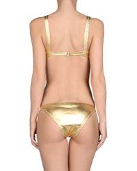 Moschino - Metallic Bikini - Lyst