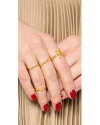 Gorjana - Metallic Paso Ring Gold - Lyst