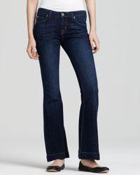 Ash - Blue Hudson Ferris Petite Flare Jeans in The Roxy Wash - Lyst