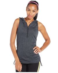Under Armour | Black Perfect Sleeveless Hoodie | Lyst