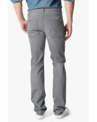 7 For All Mankind - Gray Slimmy Slim Straight for Men - Lyst