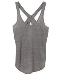 Alternative Apparel - Gray Make Your Move Eco-gauze Tank Top - Lyst