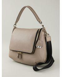 Anya Hindmarch - Gray Maxi Zip Calf-Leather Cross-Body Bag - Lyst