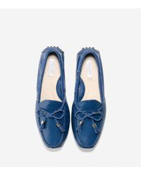 Cole Haan - Blue Women's Grant Driver - Lyst