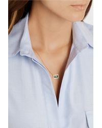 Ippolita - Blue 18k Gold Gelato Medium Baguette Topaz Necklace With Diamonds - Lyst