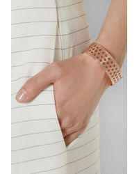Arme De L'Amour | Pink Rose Goldplated Cuff | Lyst