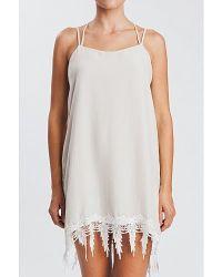 Karen Zambos | White Lace Jocelyn Dress | Lyst