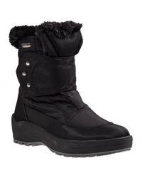Pajar | Moscou Snow Boot Black Fabric | Lyst